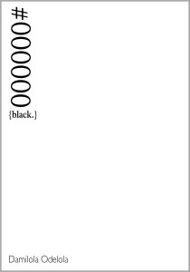 #000000 cover page